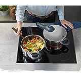 WMF Perfect Plus Schnellkochtopf Induktion 3l, Dampfkochtopf mit Einsatz, Cromargan Edelstahl poliert, 2 Kochstufen, Einhand-Kochstufenregler - 6