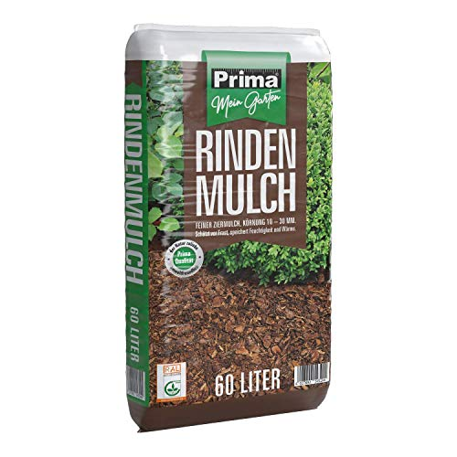 PRIMA Rindenmulch 10-30 mm 60 Liter Bodenhilfsstoff