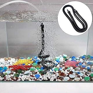 Home Aquarium Supplies 105cm Double Heads Aquarium Pump Bubble Bar Hose Aquarium Accessories Air Oxygen Strip Diffuser for...