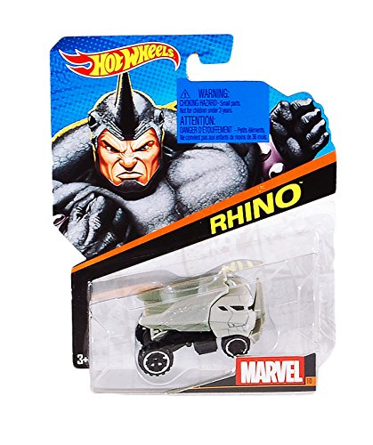 Hot Wheels Marvel Voitures : Rhinocéros
