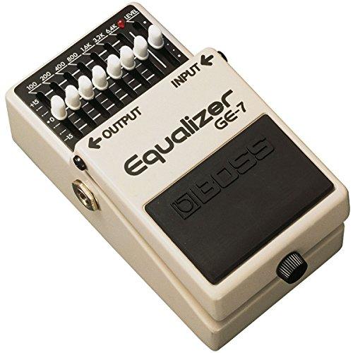 Boss GE-7 - Ecualizador gráfico para guitarra y cable Keepdrum