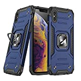 WOZINSKY Ring Armor - Custodia rigida per iPhone XS/iPhone X