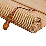 QIANDA Tende a Rullo Tapparella Tende Oscuranti Tendina Parasole Drappo di bambù Veneziano (più Misure) (Color : A, Size : 120x200cm)
