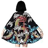 Camisas Dragón Animado De Cosplay del Vestido del Kimono Beach Girls Nueva Corea Protector Solar Kimono Japonés Vestido Tradicional Yukata Hombre Hombre Y Mujeres
