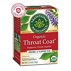 Supports throat health.* Non-GMO verified. All Ingredients Certified Organic. Kosher. Caffeine Free. Consistently high quality herbs from ethical trading partnerships. Taste: Sweet and silky, with a distinct licorice taste. Case of six boxes, each bo...