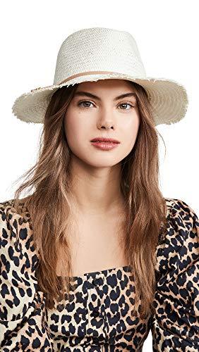 Hat Attack Women's Fringe Travel Hat, Bleach/Tan, One Size