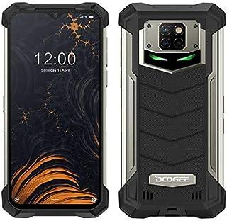 DOOGEE S88 PRO Smartphone, 10.000 mAh accu, outdoor smartphone zonder contract, Octa-Core 6 GB + 128 GB, Android 10, 21 MP...