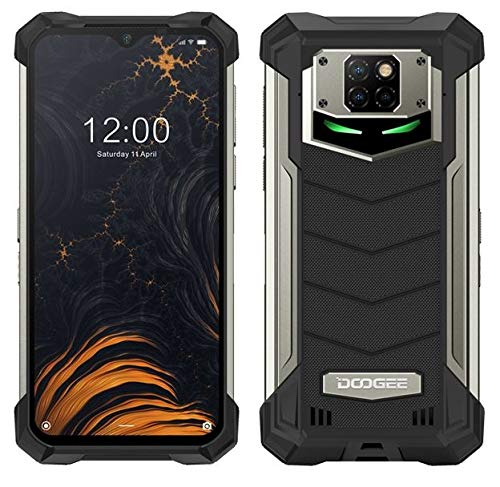 Smartphone Robusto DOOGEE S88 PRO 10000 mAh Batteria, Octa-core 6GB+128GB Android 10, Fotocamera Quadruple 21 MP, 6,3 FHD + Corning Gorilla Glass, Ricarica Wireless, Rugged Telefono IP68 NFC Nero