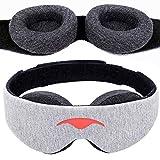 Manta Sleep アイマスク - 100% 光をカットするアイマスク – 目に圧力がかかりません– アイカップは調整可能 – 深く快適な睡眠を保証します- 仮眠や旅行中の睡眠、昼寝に最適なアイマスク