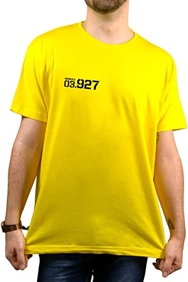 SUPERMOLON Camiseta Amarilla Unisex Vis a Vis Saray