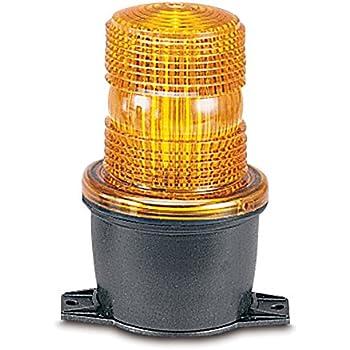 Amber 18-30 VDC Federal Signal LP7-18-30A Streamline Low Profile Combination Sounder//Strobe