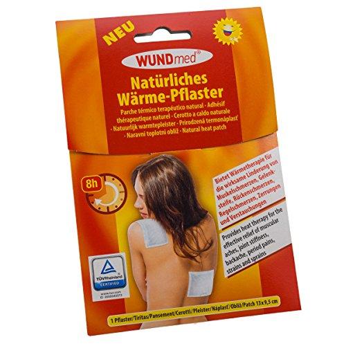 Wundmed Warmtepleister/pijnpleister 13cm x 9,5cm in voordeelverpakking