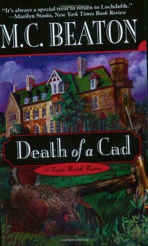 Death of a Cad (Hamish Macbeth Mysteries, No. 2) 0446607142 Book Cover