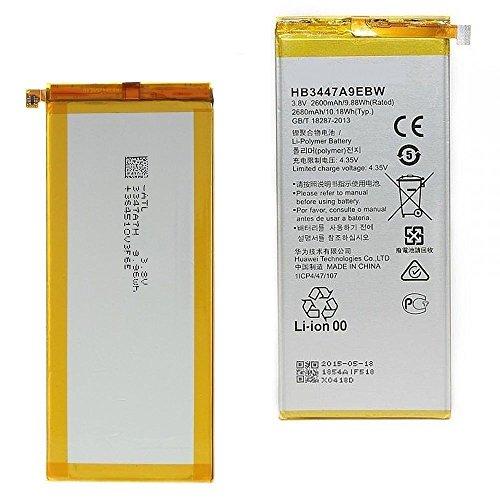 Huawei BATTHUAWP8 Batteria originale, Ascend P8, 2600mAh, GRA-L09