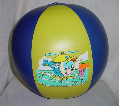 37 centimetri Retro Budgie elicottero gonfiabile pallone da spiaggia IN20
