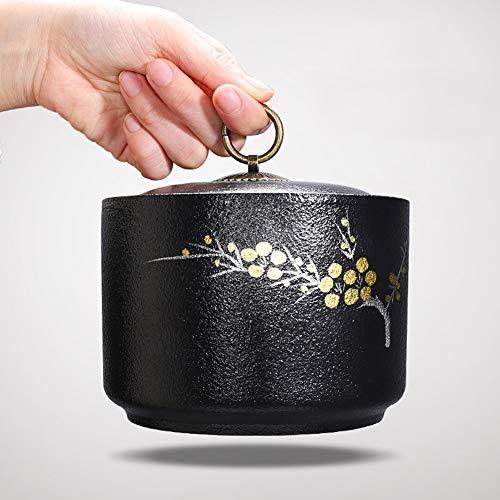 Rouwurnen Urnen Adult Crematietas keramiek uitrustingsurnen funeral blijft Memorial 12x14 cm as box