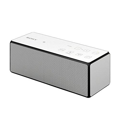 Sony SRS-X3 - Altavoz portátil de 20 W (Bluetooth, NFC, 3.5 mm), blanco