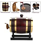 Personalized Custom Engraved American Premium Oak Aging Barrel, Suitable for Whiskey, Beer, Wine