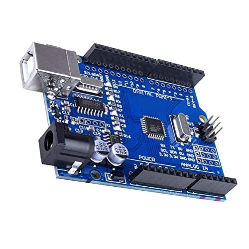 Interfaz USB Junta de Desarrollo ATmega328P CH340 microcontrolador del módulo con el cable de un rendimiento estable confiable