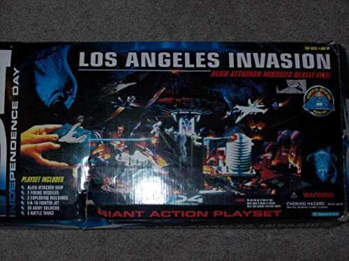 Independence Day Los Angeles Invasion Giant Action Playset by Trendmasters