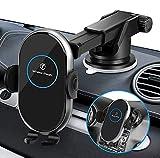Holwarm 15W Chargeur Induction Voiture,Support Téléphone Voiture Chargeur sans Fil Rapide...