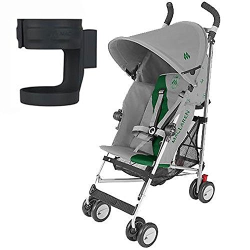 Fantastic Prices! Maclaren Triumph Stroller with Cup Holder - Dove Jelly Bean