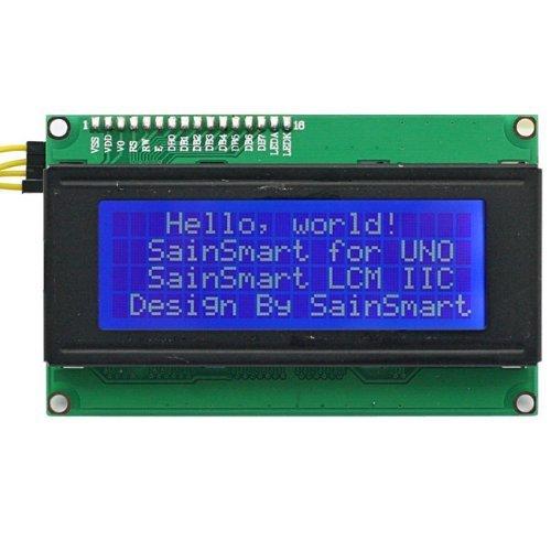 SainSmart IIC/I2C/TWI Serial 2004 Character 20x4 LCD Display Modul Shield für Arduino UNO Mega2560 Duemilanove R3 AVR ATMEL Robot