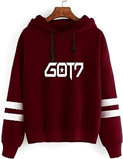 Got7 Hoodie Fashion Jackson JB Bambam Mark Sweater Long Sleeve Hoodie