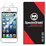 Spectre Shield Screen Protector for Apple iPhone SE, 5, 5S, 5C Case Friendly iPhone SE, 5, 5S, 5C Screen Protector Accessory TPU Clear Film
