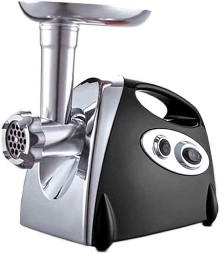 PULLEY-S Acero inoxidable para máquina de salchichas, máquina de procesamiento de alimentos resistente con cuchilla de corte para restaurante, carne, cocina, picadora de carne S (color negro)