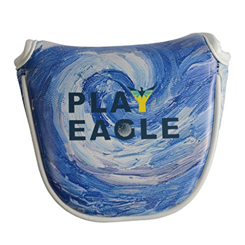 Toygogo Waterproof Golf Mallet Putter Headcover Head Cover Guards Starry Night - Blue, Blade Putter