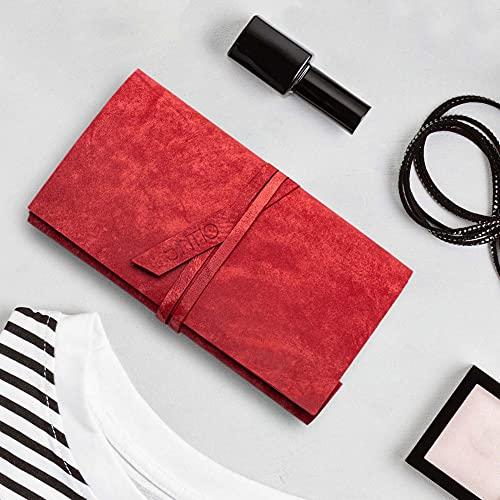 Geldbörse Damen   ORIGAMI-Technik   Rot   F02