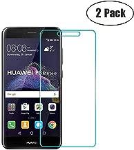 JayTong 2PCS Clear Screen Protector Tempered Glass for Huawei P8 Lite 2017 Pra-LA1 Pra-LX1 Pra-LX3 / P9 Lite 2017