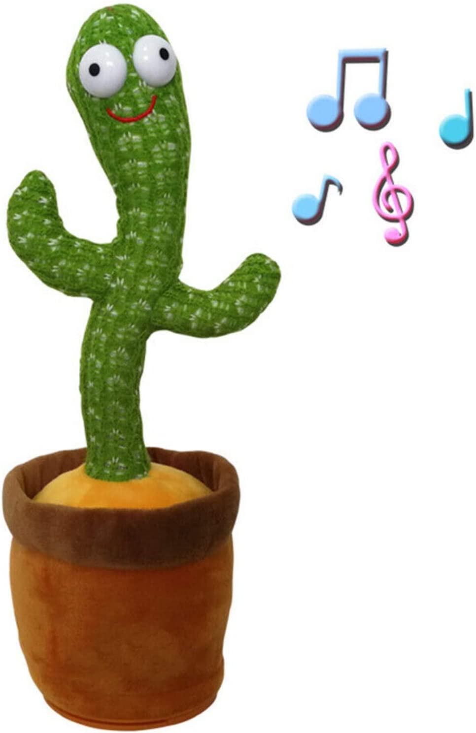 DEVELE Cactus Plush Toys Challenge the lowest price of Japan ☆ Electronic and Limited time sale Dancing Singing wi