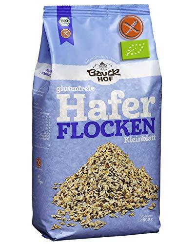 Flocons D'Avoine Sans Gluten 1 Kg 'Complets' Et Bio 'Certifié' 1KG | Flocons D'Avoine Bio 'Complets' Qualité Sans Gluten Contrôlée - 100% Bio Sans OGM - Sans Conservateurs - Sans Additifs - Sans Sucre