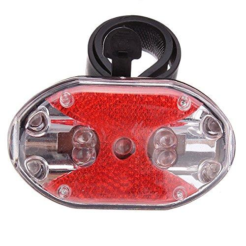 Innovey fietslamp, 7 modi, 9 leds, zeer helder, waarschuwingslamp.