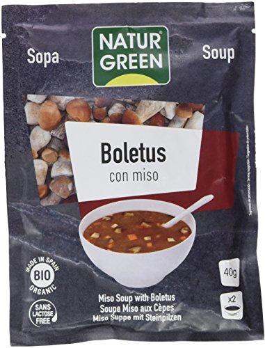 NaturGreen Sopa Boletus con Miso Bio 40g