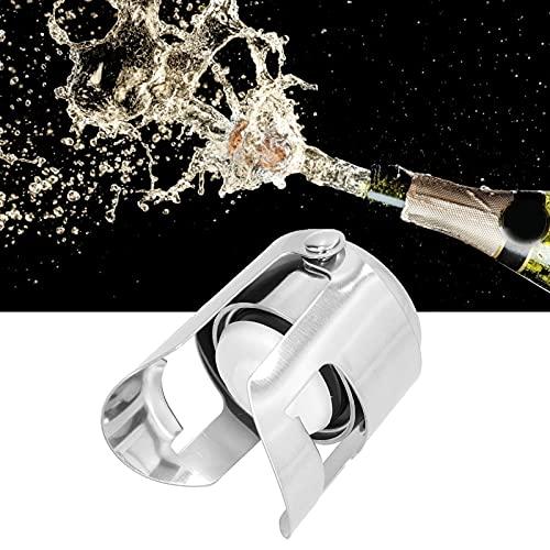 xiji Tapón de Vino, tapón de champán hermético Mejor con Sellos de Silicona más Largos para hogares, restaurantes, hoteles, Bares, Discotecas, KTV y cafés para la mayoría de Las Personas