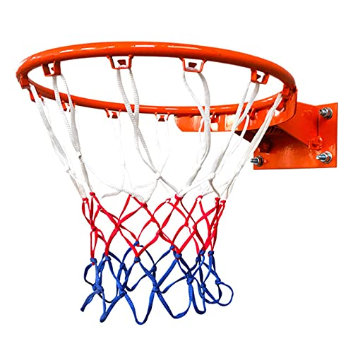 SHEDE Aro de Baloncesto, tamaño Oficial (45 centímetros) Aro de Baloncesto, aro, Red y Fijaciones para Montaje en Pared. Apto para Adultos y niños benchmark