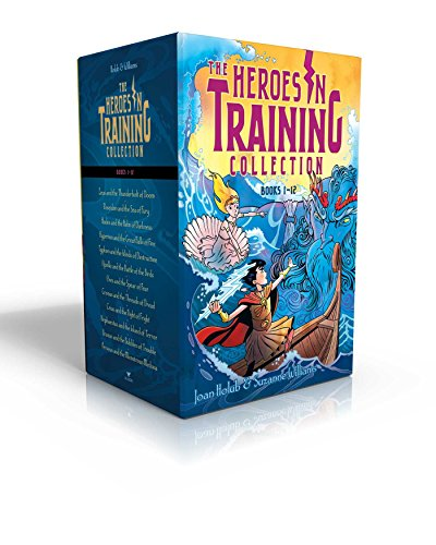 Compare Textbook Prices for Heroes in Training Olympian Collection Books 1-12: Zeus and the Thunderbolt of Doom; Poseidon and the Sea of Fury; Hades and the Helm of Darkness; ... the Birds; Ares and the Spear of Fear; etc Boxed Set Edition ISBN 9781481496988 by Holub, Joan,Williams, Suzanne