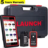 LAUNCH X431 Pro Mini Bi-Directional Scanner Full System Scan Tool with ECU Coding, Key IMMO,20 Reset Functions,Full Connector Kit,Free Update + TPMS Activation Tool EL-50448 As Gift