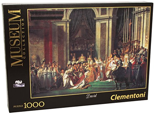 Clementoni - Puzzle de 1000 Piezas Louvre, diseño David: La Coronación De Napoleón Y Josefina (314164)