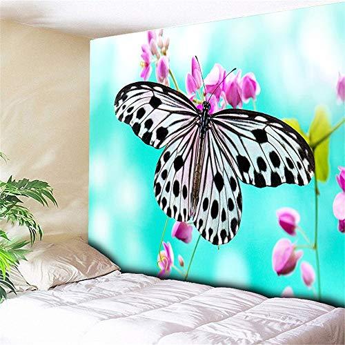 mmzki HIC Landschaft außerhalb der Wandkunst Dekor Meer Wandteppich Wandbehang für Schlafzimmer dekorative Wand Teppich Hippie Wand Decke Tapisserie-230X150CM
