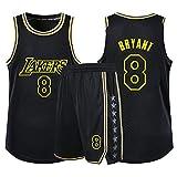 Xin Hai Yuan Jersey de baloncesto para niños, niñas, hombres, adultos, camiseta de manga corta y pantalones cortos, color negro, XS