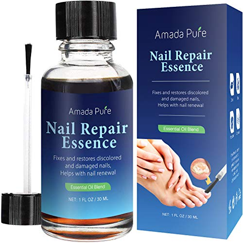 Amada Pure Toenail Fungus Treatment, Nail Fungus Treatment, Finger Fungus Stop, Fungi Nail and Fungal Nail Solution, Nail Fungus Remover, Effective Against Nail Fungus 1 Fl. Oz (30ml)