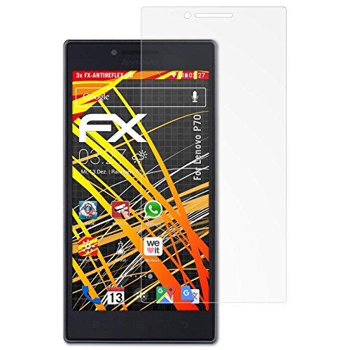 atFolix Schutzfolie kompatibel mit Lenovo P70 Bildschirmschutzfolie, HD-Entspiegelung FX Folie (3X)