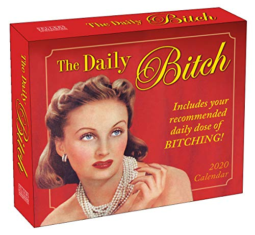 2020 Daily Desk Calendar: The Daily Bitch 365 Boxed Day-To-Day...