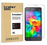 ivoler Protector de Pantalla Compatible con Samsung Galaxy Grand Prime G530, Cristal Vidrio Templado Premium [Dureza 9H] [Anti-Arañazos] [Sin Burbujas]
