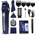 Gloue Store 5 in 1 Multifunctional Suit Hair Clippers Men's Grooming Kit