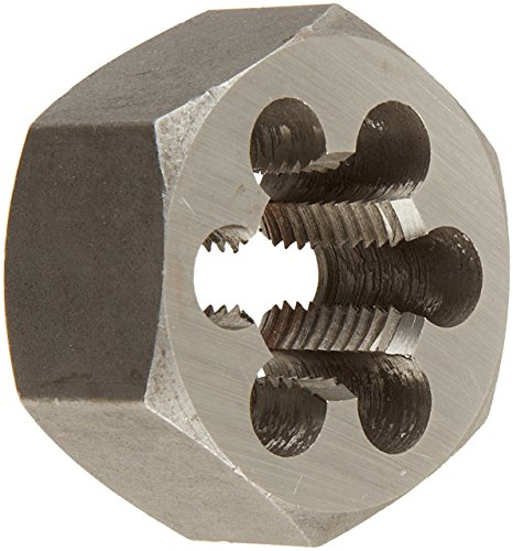"Drill America 3-3/4""-8 Carbon Steel Hex Die 8 Pitch, DWT Series"